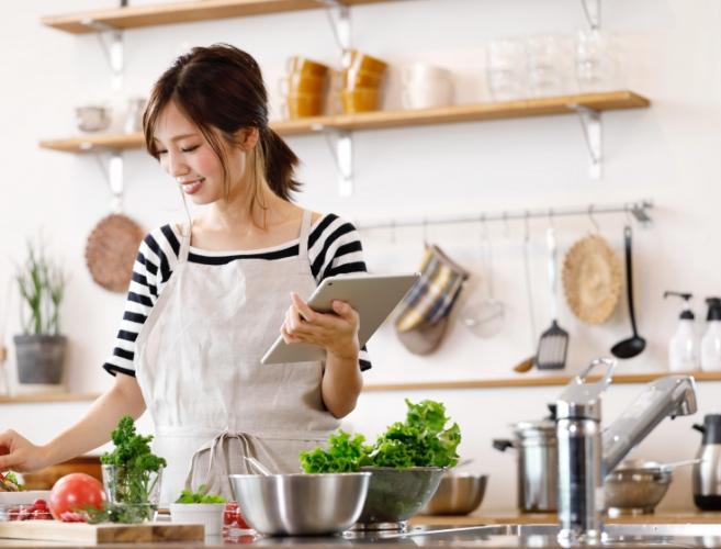 食事の正しい知識が得られる(1日3食食べられる)